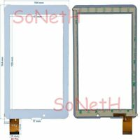 """Vetro Touch screen Digitizer 7,0"""" Majestic TAB-279 3G Tablet PC Bianco"""