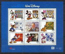 Portugal  - Disney Stamps - 100th Birthday of Walt Disney - Sheet of 9 - MNH