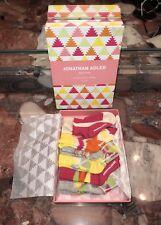 Nwt Jonathan Adler Baby Shower Gift Set 6 Pairs Infant Crew Socks Girl's 0-12M