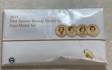 New Listing2015 First Spouse Bronze Medals ☆☆ Us Mint Set ☆☆ Four Medals ☆☆ Collectible