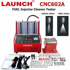 LAUNCH CNC602A Ultrasonic Fuel Injector Tester Cleaner +110V Transformer for U.S