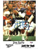 Jim Kelly Autographed Signed 11x14 Photo Buffalo Bills Promo PSA/DNA COA D