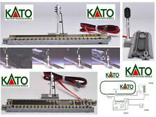 KATO NEW 20-605 TRAFFIC LIGHT SIGNAL AUTOMATIC with LED 3 COLORI TRACK LADDER-N