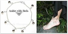 ~ANKLET WITH BELLS~Gypsy~Tribal~New Age~Silver~
