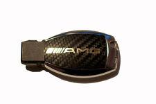 Mercedes W164 ML AMG SL 500 R230 W211 W212 W207 Carbon key sticker GOLD AMG