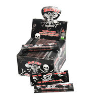 1BOX HORNET SKULL 110*54MM Ultra Thin Cigarette Smoking Rolling Papers King Size