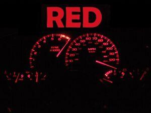 Gauge Cluster LED Dash kit Red For 97 02 Chevy Camaro Chevrolet SS Z28