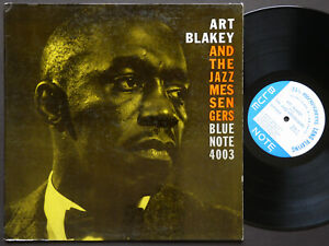 ART BLAKEY Moanin' LP BLUE NOTE 4003 EAR MONO NY W.63rd Lee Morgan Bobby Timmons