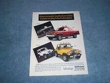 1991 Mopar Accessories Dakota Jeep Parts Vintage Ad