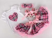 22'' Bebe Reborn Baby Girl Doll Clothes Clothing Set Newborn Toys Handmade Gift@