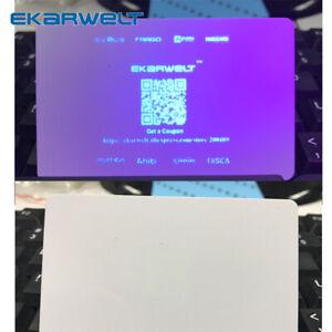 RCT000UV Blue UV ribbon cassette 1000prints compatible for Evolis Zenius Primacy