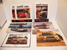 2003 DODGE TRUCKS RAM CARS CHRYSLER 300M JEEP ACCESSORIES SALES BROCHURES (7)