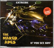 NAKED APES - EXTREME - LTD EDITION CD SINGLE - MINT