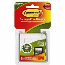 3M Command Picture Hanging Strips Value pack 17203
