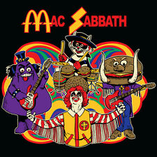 Mac Sabbath parody shirt black ALL OTHER SELLERS ARE BOOTLEGGERS, Buy from band.
