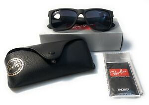 Ray-Ban RB4165 622/T3 54/16 Justin Classic Black Frame ***POLARIZED***