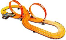 Hot Wheels Race 20.7 ft Slot Track Set Racing Vehicle Toy Car Kids Toddler Gift