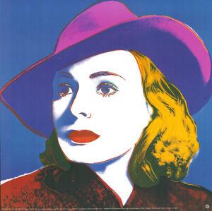 Andy Warhol - Ingrid Bergman - GROSS - Kunstdruck auf schwerem Papier