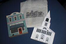 1986 The Cat's Meow Series Iv Chepachet Union Church & Jones Bros Tea Co Signed