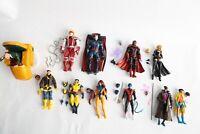 Marvel Legends X-Men Lot : Professor X Gambit Wolverine Cyclops Magneto