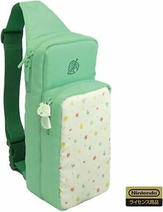 Nintendo Switch Official HORI ANIMAL CROSSING Shoulder Pouch Bag NSW-241