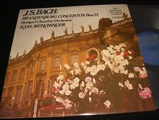 BACH°BRANDENBURG 1-3<>KARL MUNCHINGER<>Lp Vinyl~Canada Pressing~LONDON SPA.4070