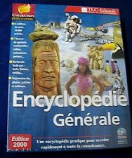 Encyclopédie générale 2000. Collection CD ENCYCLOPEDIA. CD-Rom. Windows 95/98.