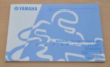 YAMAHA TDM Twin 900 TDM900 Manual du Proprietaire Bedienungsanleitung Motor 2009