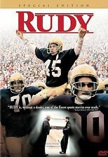 Rudy (DVD, 2000, Special Edition) New Sealed