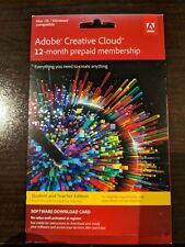 Adobe Creative Cloud Student and Teacher Edition 1-Year Prepaid Subscription