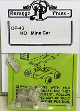 HO/HOn3 Scale Durango Press 'Mine Car' Kit #DP-43