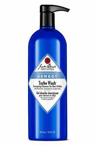 Jack Black Turbo Wash Energizing Cleanser Hair & Body 33oz - NEW FRESH AUTHENTIC