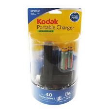CARICABATTERIE Viaggio Kodak portatile USB MP3 fotocamera telefono Vacanza ricaricabile dock