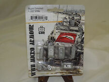 WWII Micro Armour GHQ War Games 1/285 Scale G-81 Panther A and D