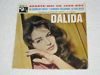 "DALIDA ACHETE-MOI UN JUKE-BOX ORIGINAL ÉDITION FRANÇAISE EP 7"""