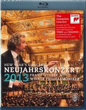 NEUJAHRSKONZERT 2013 (Wiener Philharmoniker, Franz Welser-Möst) Blu-ray Disc NEU