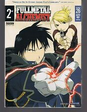 Fullmetal Alchemist - The Complete Second Season (DVD, 2010, 4-Disc Set)