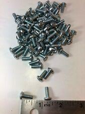 """New listing #10-32 x 1/2"""" Phillips Pan Head Screw Zinc Plated Steel Qty-100"""