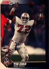 1991 Score Football Cards 501-686 +Inserts (A1381) - You Pick - 10+ FREE SHIP