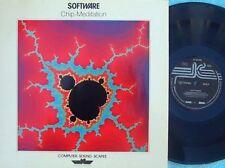 Software ORIG GER LP Chip-meditation EX '85 IC KS80050 New age electronica