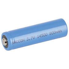 14500 Rechargeable Li-ion Battery 800mah 3.7v Nipple Sb2300