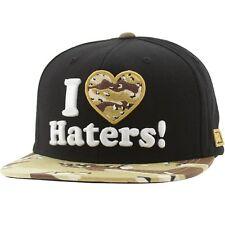 $30 DGK I love Haters Snapback Cap black desert camo hat