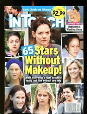 In Touch Magazine January 14 2013 Stars Without Makeup EX No ML 122316jhe