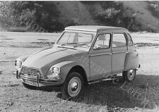 1967 CITROËN DYANE PRESSEBILD FACTORY PRESS PICTURE BILD FOTO ORIGINAL