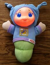 Playskool Brand Blue Baby Gloworm Light Up Lullaby Song Neat Toy