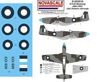 RAAF P-51D Mustang Mini-Set Decals 1/32 Scale N32051b