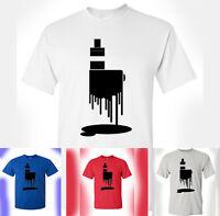 Dripper Tank,Box Mod,Vaping Serial Vapist Sub-Ohm E-Cig T-Shirt Vape Juice