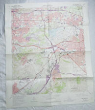 New ListingSan Dimas California 1972 Vintage Usgs Topographic Quadrangle Map La County