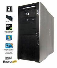 HP Z800 Workstation DUAL Xeon X5670 2.93 GHz 6-core 24GB 1TB Nvidia GTX 650 Ti