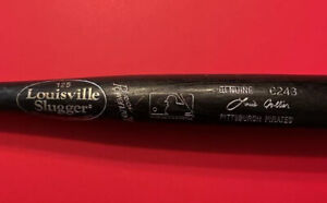 Pittsburgh Pirates Lou Collier Louisville Slugger MLB Baseball Bat Vtg Game Used